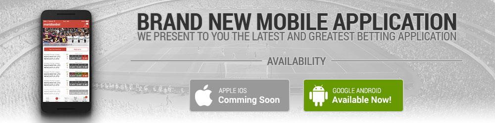 Meridianbet TZ app on iOS